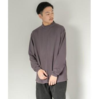 SENSE OF PLACE(センスオブプレイス) トップス Tシャツ・カットソー ポンチモックネックTシャツ