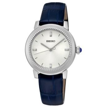SEIKO セイコー SRZ451P1 シルバー×ネイビー 腕時計 レディース