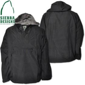 SIERRA DESIGNS シエラデザインズ ZIP ANORAK ジップアノラック 3023 Black/Gray