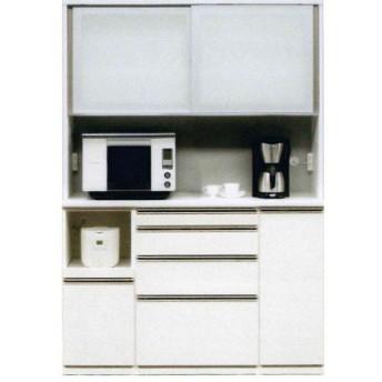 幅148cm 高さ179cm 受注生産品 レンジボード 完成品 キッチン収納 国産 引き戸 開梱設置