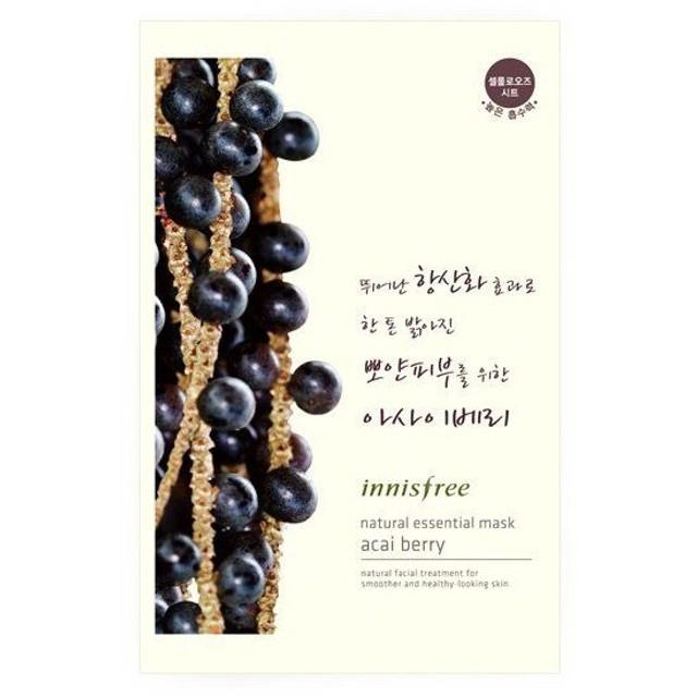 innisfree(イニスフリー)Essential mask acai berry ナチュラル エッセンシャル マスク アサイベリー 対応 韓国コスメ/韓国 コスメ/韓コス/BB
