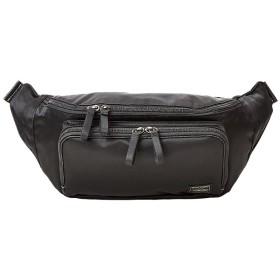 カバンのセレクション 吉田カバン ポーター プラン ウエストバッグ メンズ レディース B6 PORTER 728 08711 ユニセックス ブラック フリー 【Bag & Luggage SELECTION】