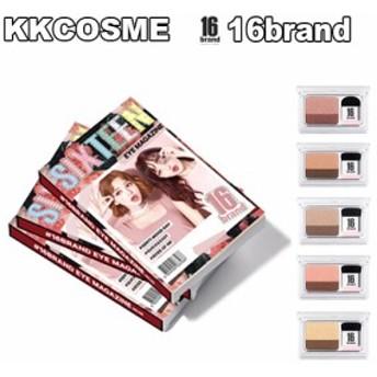 16brand 16ブランド アイシャドウ 16アイマガジン 韓国コスメ 正規品