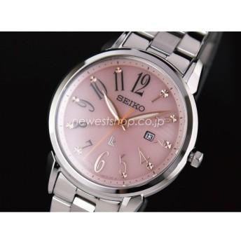 SEIKO セイコー LUKIA ルキア SUT297J1 ピンク×シルバー 腕時計 レディース