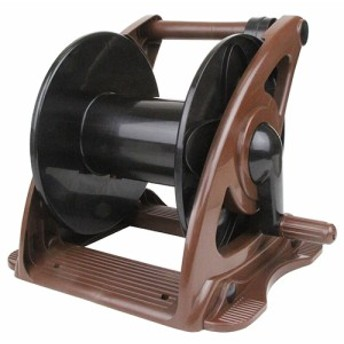 20M・30M巻兼用空リール/セフティー3/散水用品/散水ホースリール/brown