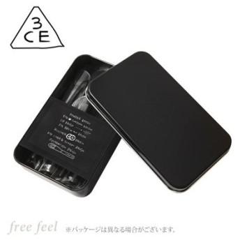 3CE ミニ ブラシ キット #BLACK (ブラック) [MINI BRUSH KIT] [スリーシーイー スタイルナンダ STYLENANDA] 韓国コスメ