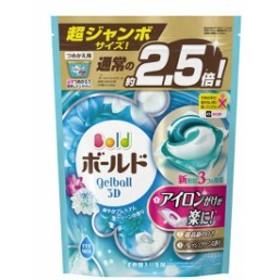 ボールド ジェルボール3D 爽やかプレミアムクリーンの香り 詰替超ジャンボ(44コ入) 洗濯用洗剤 その他洗濯用洗剤