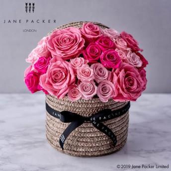 【日比谷花壇】JANE PACKER プリザーブドアレンジメント「グレート レディ」