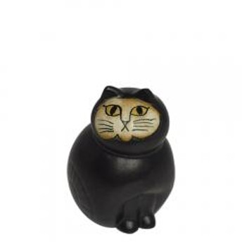 リサ・ラーソン ねこ置物(リサラーソン)キャットミア ミニ(小) ブラック 動物 LisaLarson(Lisa Larson)Mia Cat(Cats Mia)Mini 1150101猫・ネコ・北欧インテリア・陶器