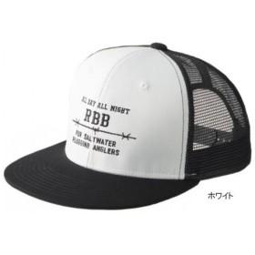 RBB フラットメッシュキャップ 8849 フリー ホワイト