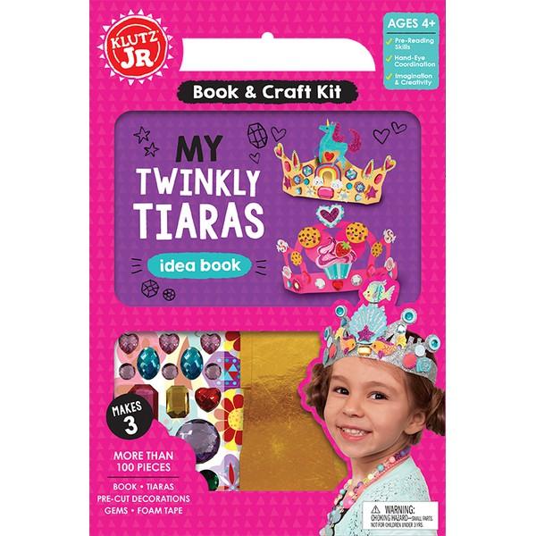 [現貨促銷] KLUTZ 小公主的創意皇冠 JR My Twinkly Tiaras