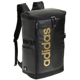 カバンのセレクション アディダス リュック スクエア ボックス型 31L A3 adidas 55483 軽量 撥水 チェストベルト付き 男女兼用 メンズ レディース ユニセックス ブラック系3 フリー 【Bag & Luggage SELECTION】