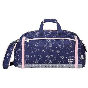 カバンのセレクション ナイスクラップ ボストンバッグ 46L 修学旅行 林間学校 女の子 女子 かわいい NICE CLAUP NC359 ユニセックス ネイビー フリー 【Bag & Luggage SELECTION】