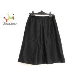 ユキトリイ YUKITORII スカート サイズ38 M レディース 美品 黒 チェック柄   スペシャル特価 20191012