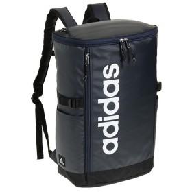 カバンのセレクション アディダス リュック スクエア ボックス型 31L A3 adidas 55483 軽量 撥水 チェストベルト付き 男女兼用 メンズ レディース ユニセックス ネイビー フリー 【Bag & Luggage SELECTION】
