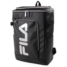 カバンのセレクション フィラ FILA リュック レディース メンズ スクエア 30L 通学 大容量 おしゃれ 女子 ピンク 高校 新作 7577 ユニセックス ブラック系3 フリー 【Bag & Luggage SELECTION】