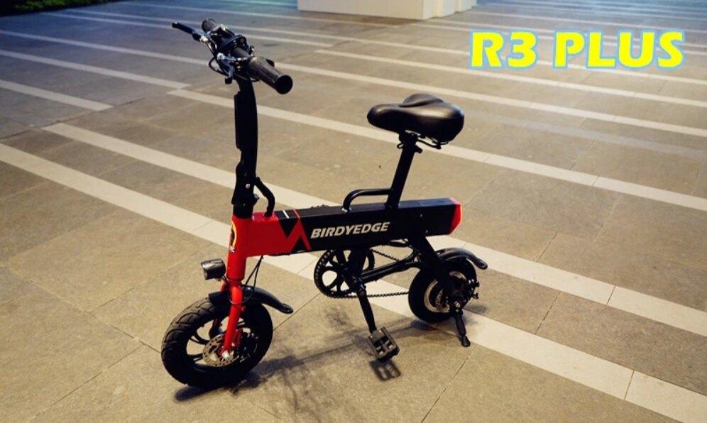 BIRDYEDGE R3 PLUS 電動小折 電動腳踏車 電動代步車 30-40KM【迪特軍】