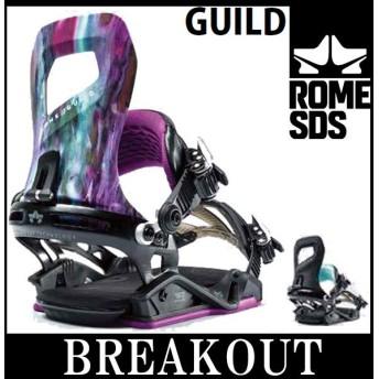 19-20 ROME SDS / ローム GUILD ギルド レディース ビンディング バインディング スノーボード 予約商品 2020