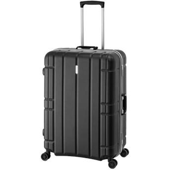 カバンのセレクション アジアラゲージ スーツケース LLサイズ フレームタイプ アリマックス 軽量 大型 大容量 100L AliMaxG MF 5017 ユニセックス ブラック フリー 【Bag & Luggage SELECTION】