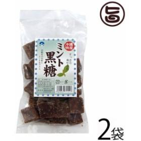 わかまつどう製菓 ミント黒糖 (加工) 140g×2袋 沖縄 人気 土産 定番  送料無料