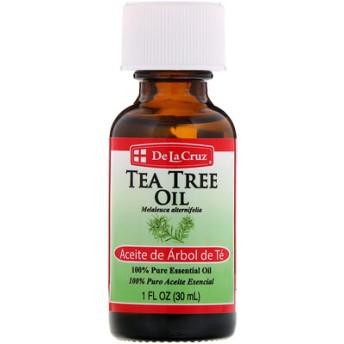 ティーツリーオイル、純度100%エッセンシャルオイル、1液量オンス (30 ml)