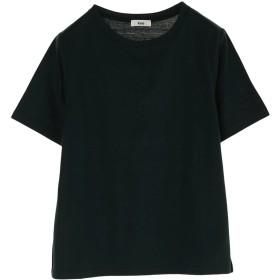 【オンワード】 koe(コエ) OE天竺クルーネックTシャツ Dark Green F レディース 【送料無料】