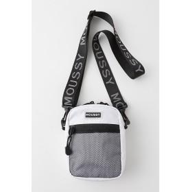 マウジー moussy MINI SHOULDER BAG (ホワイト)