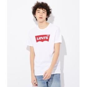 Levi's バットウィングロゴTシャツ メンズ レッド*ホワイト