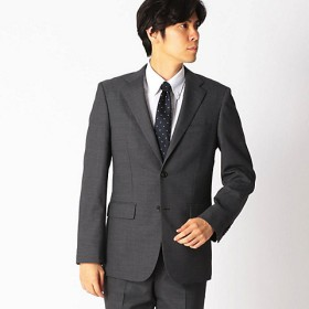 【SALE(伊勢丹)】<COMME CA ISM (メンズ)> 《セットアップ》 メッシュメランジ スーツジャケット(4701GL04) グレー 【三越・伊勢丹/公式】