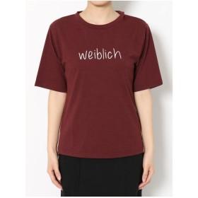 MURUA weiblichTシャツ(ボルドー)