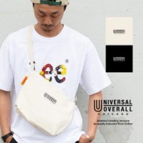 【 UNIVERSAL OVERALL ユニバーサルオーバーオール 】キャンバス ミニショルダー バッグ UV008CE / バッグ サコッシュ サコシュ ショルダ