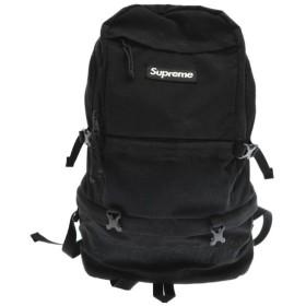 SUPREME(シュプリーム)15AW Contour Backpack ロゴ刺繍ナイロンバックパック ブラック リュック