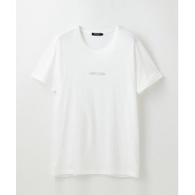 ラブレス ポリクレスト ロゴ クルーネックT メンズ オフホワイト 1 【LOVELESS】