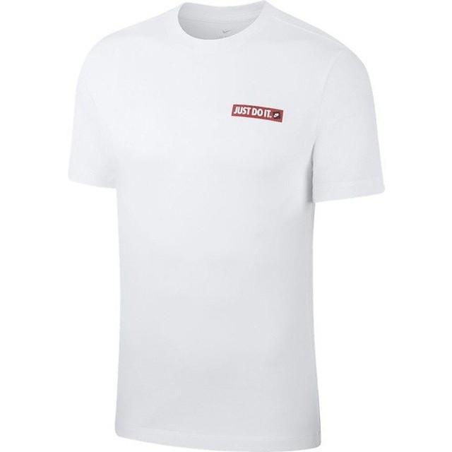 NIKE(ナイキ)メンズスポーツウェア 半袖シャツ ナイキ JDI S/S Tシャツ BV7659-100 メンズ ホワイト