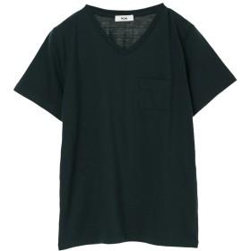 【オンワード】 koe(コエ) OE天竺VネックTシャツ Dark Green F レディース 【送料無料】