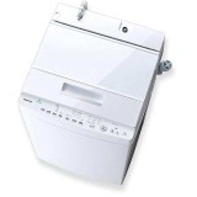 東芝 AW-7D8 グランホワイト ZABOON [簡易乾燥機能付洗濯機(7.0kg)]【あす着】