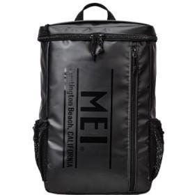 (Bag & Luggage SELECTION/カバンのセレクション)メイ リュック メンズ レディース ロゴ スクエア型 大容量 25L MEI mdtp505/ユニセックス ブラック 送料無料