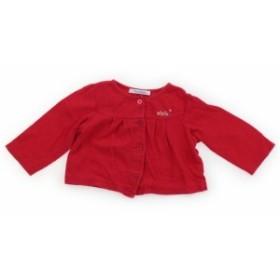 【ファーストインプレッション/FirstImpressions】カーディガン 80サイズ 女の子【USED子供服・ベビー服】(424416)