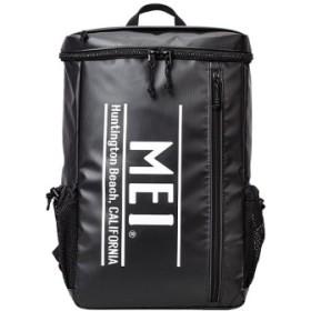 (Bag & Luggage SELECTION/カバンのセレクション)メイ リュック メンズ レディース ロゴ スクエア型 大容量 25L MEI mdtp505/ユニセックス ブラック系1 送料無料