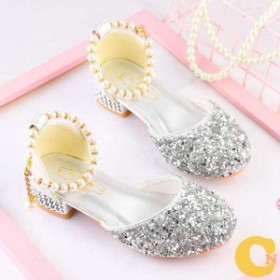 フォーマルシューズ 女の子 子供靴 ドレスシューズ ピアノ発表会靴 パール キラキラ フォーマル靴 ダンスシューズ キッズ シューズ