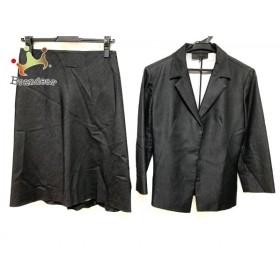 アンタイトル UNTITLED スカートスーツ サイズ1 S レディース 美品 黒 新着 20190707