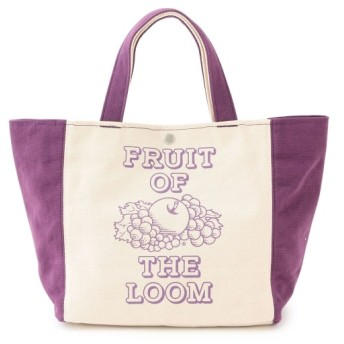 ジュンレッド/【FRUIT OF THE LOOM】2TONE TOTE BAG/パープル/F