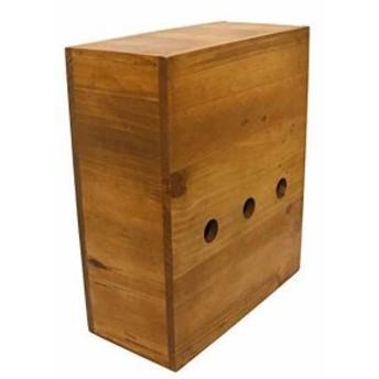 クレエ ルーター収納ボックス パインルーターボックス[91500039](ルーターボックス)
