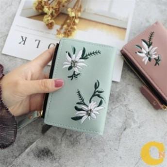 二つ折り財布 ミニ財布 かわいい 小銭入れ おしゃれ レディース 大容量 小銭入れ プレゼント 2019 新 多機能 財布