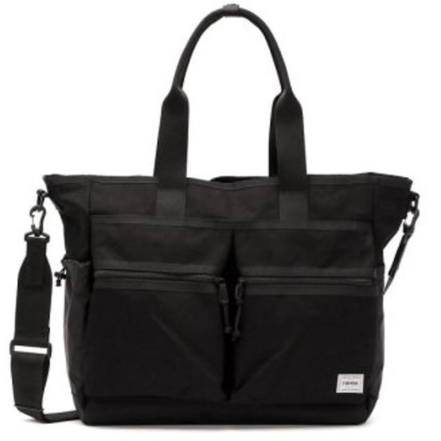 (GALLERIA/ギャレリア)吉田カバン ポーター トートバッグ PORTER SWITCH スイッチ 2WAY TOTE BAG(L) 874-19671/ユニセックス ブラック