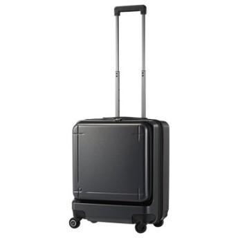 (Bag & Luggage SELECTION/カバンのセレクション)エース プロテカ マックスパス3 スーツケース 機内持ち込み Sサイズ 40L ACE 02961 ストッパー フロントオープン/ユニセックス ガンメタリック 送料無料