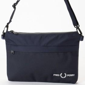 [マルイ] TEXTURED SACOCHE BAG/フレッドペリー(雑貨)(FRED PERRY)