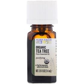 Organic、Tea Tree、0.25 fl oz (7.4 ml)