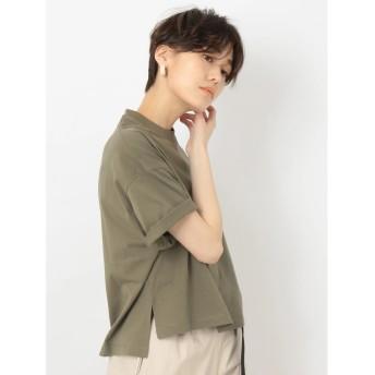 【オンワード】 koe(コエ) ・オーガニックビッグサイズTシャツ Khaki F レディース 【送料無料】