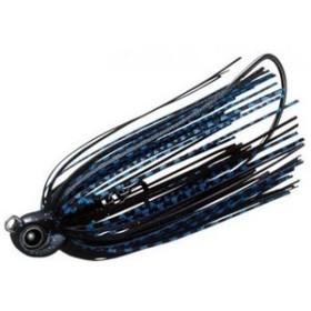 エバーグリーン バス釣り用ハードルアー スイミングトゥルーパー  3/8oz  #35 ブラック×ブルー